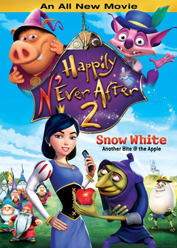 "'Happily N'Ever After 2: Snow White"" on DVD."